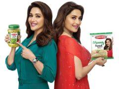 Ram-Bandhu-ropes-Madhuri-Dixit-endorse-pickle-papad-product