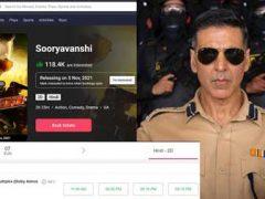 Sooryavanshi-Advance-Booking-Started-In-India